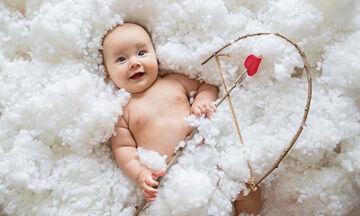Ονόματα για τα μωρά σας βγαλμένα από την αγάπη & την Ημέρα των Ερωτευμένων