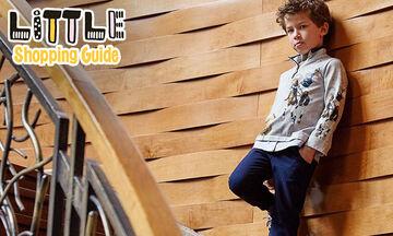 Little Shopping Guide: 10 κομψά παντελόνια για τον μικρό σας