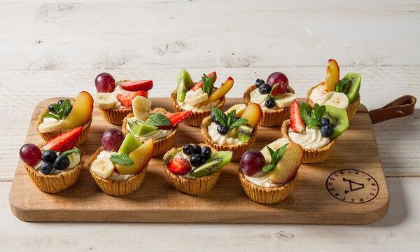 Μπείτε στην κουζίνα με τα παιδιά σας και φτιάξτε ταρτάκια με φρούτα