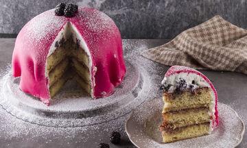 Princess cake - Ένα νόστιμο γλυκό για τα καραντινάτα γενέθλια των παιδιών σας