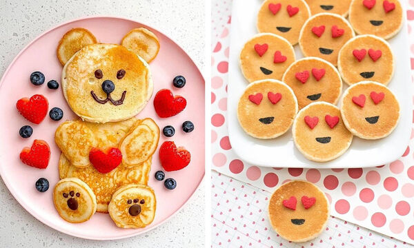 Πέντε προτάσεις για πρωινό για να φτιάξετε ανήμερα του Αγίου Βαλεντίνου