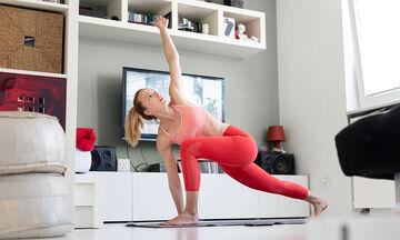 20λεπτο full body Pilates για μαμάδες με λίγο χρόνο (vid)