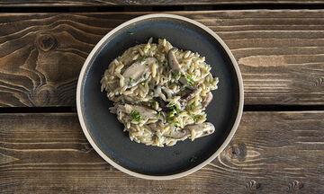 Εύκολη και νόστιμη συνταγή για κριθαρότο με μανιτάρια