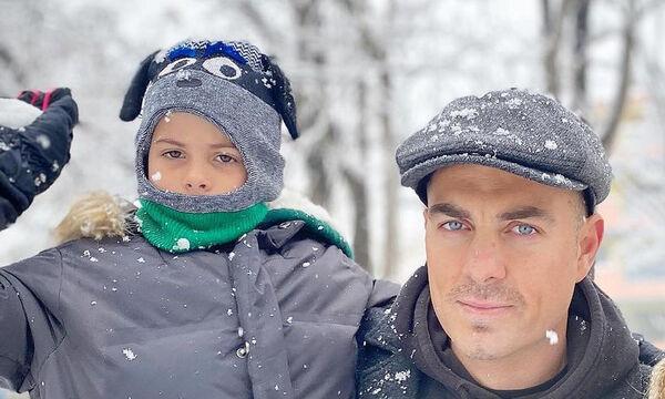 Στέλιος Χανταμπάκης: Το νέο look του γιου του και η σκληρή προπόνηση