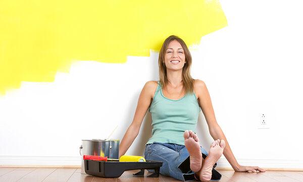 Βάψιμο τοίχου: 13 πρωτότυπες ιδέες για να τον μεταμορφώσετε (vid)