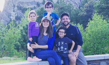 Καλομοίρα: Ποιο μνημείο επισκέφτηκε με τα παιδιά της