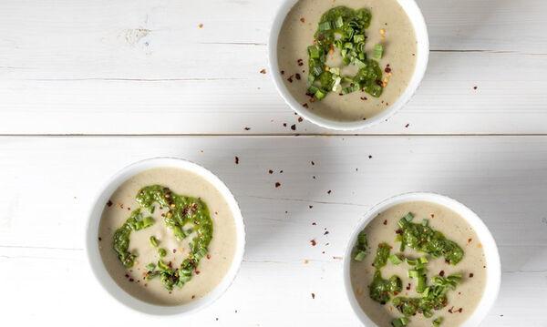 Σούπα με πατάτα και κουνουπίδι - Θρεπτική και με λίγες θερμίδες