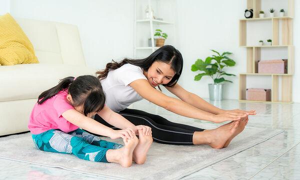 Γυμναστική για μαμάδες: Ασκήσεις για όλο το σώμα διάρκειας 7 λεπτών