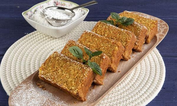 Κέικ καρότου με ινδοκάρυδο - Ένα ιδιαίτερο και εύκολο γλυκό