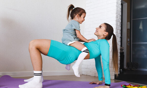 Γυμναστική για μαμάδες: 11 απλές ασκήσεις για όλο το σώμα