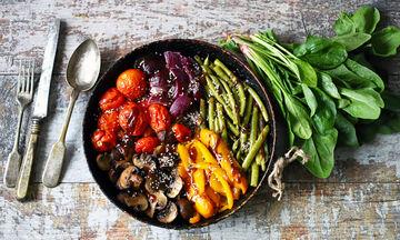 Χορτοφαγική διατροφή: Πώς ωφελεί την υγεία και αυξάνει το προσδόκιμο ζωής (εικόνες)