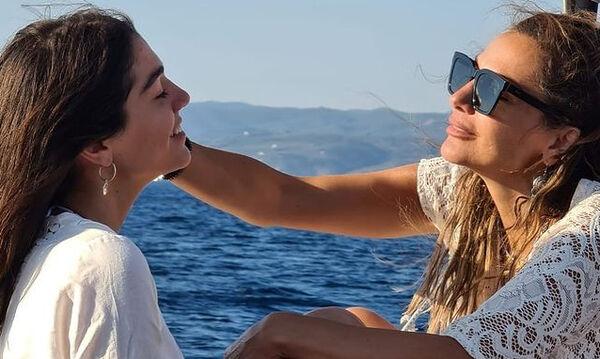 Η Μαρία Μπακοδήμου δημοσίευσε υπέροχες φώτο της Μελίνας Νικολαΐδη