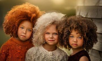 Φωτογράφος απαθανατίζει παιδιά με ασυνήθιστα μαλλιά - Είναι όλα πανέμορφα