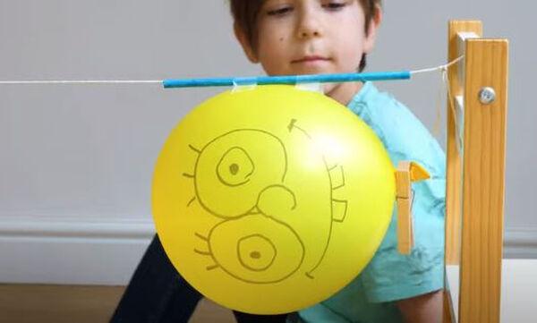 Το πείραμα με το μπαλόνι και το σπάγκο που θα ενθουσιάσει τα παιδιά