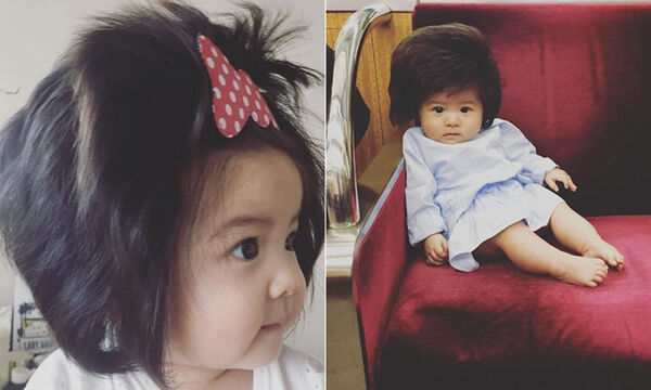 Θυμόσαστε το μωρό με τα πολλά μαλλιά; Δείτε πώς είναι σήμερα