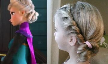 Χτενίσματα για κορίτσια: Κάντε κι εσείς το χτένισμα της Elsa από το Frozen