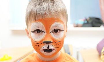 Facepainting τιγράκι - Πώς θα βάψετε το παιδί σας βήμα-βήμα