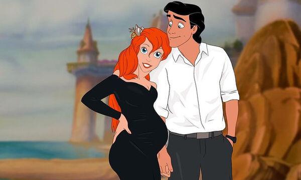 Έτσι θα έμοιαζαν οι πριγκίπισσες της Disney σαν μαμάδες
