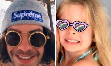 Άγγελος Λάτσιος: Απίθανες οι νέες του φωτογραφίες με τη μικρή Μαρίνα