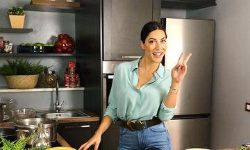 Φλορίντα Πετρουτσέλι: Μαγείρεψε φανταστική φασολάδα κι αυτή είναι η συνταγή