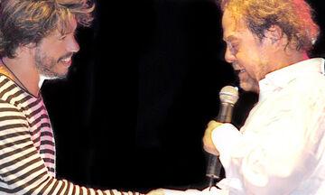 Χ. Βαρθακούρης: Η throwback φώτο με τα αδέλφια του και τον Γιάννη Πάριο