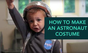Απόκριες στο σπίτι: DIY στολή αστροναύτη με απλά υλικά