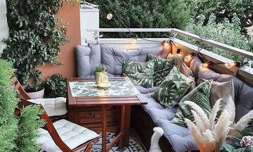 10 ιδέες για να κάνετε το μπαλκόνι τον πιο cozy χώρο του σπιτιού