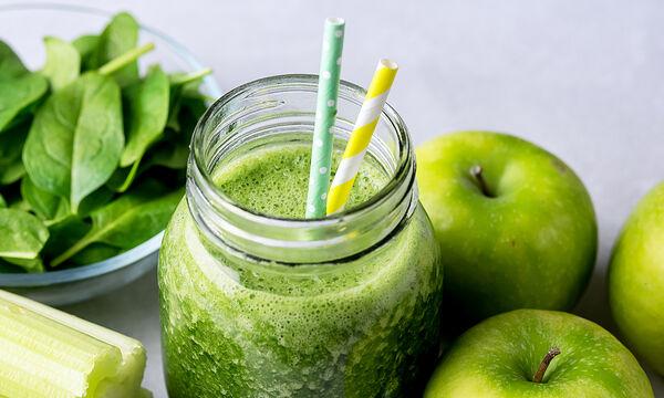 Tips για μαμάδες: Detox smoothie με πράσινο μήλο - Φτιάξτε το κι εσείς