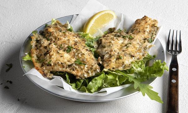 Ψάρι πανέ με παρμεζάνα - Θα γίνει το αγαπημένο φαγητό των παιδιών