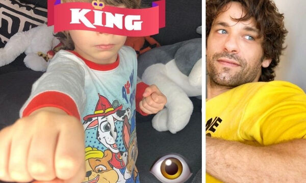Αποστόλης Τότσικας: Νέες φωτογραφίες του γιου του σε ρόλο μοντέλου