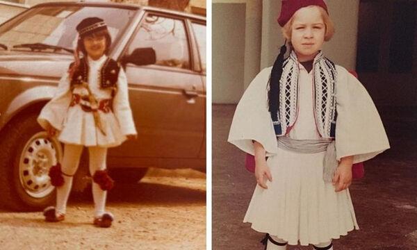 Διάσημες και διάσημοι σε παιδική ηλικία ντυμένοι τσολιάδες (pics)