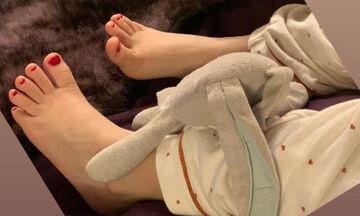 Διάσημη Ελληνίδα μαμά μας δείχνει το πεντικιούρ της 5χρονης κόρης της