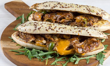 Philly steak sandwich - Ένα λαχταριστό βραδινό για όλη την οικογένεια