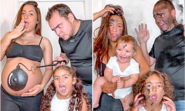 Αυτό το ζευγάρι βγάζει απίθανες φωτογραφίες με τα παιδιά του
