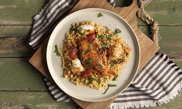 Ζουμερό κοτόπουλο Caprese - Η τέλεια συνταγή