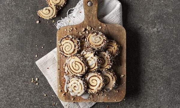Cinnamon roll cookies - Τα παιδιά θα τα λατρέψουν