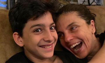 Γενέθλια για την Ελίνα Ακριτίδου και τον γιο της - Η φώτο που εντυπωσίασε