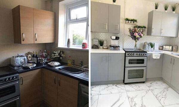 Μαμά ανακαίνισε το σπίτι της και έγινε viral - Δείτε το πριν και το μετά