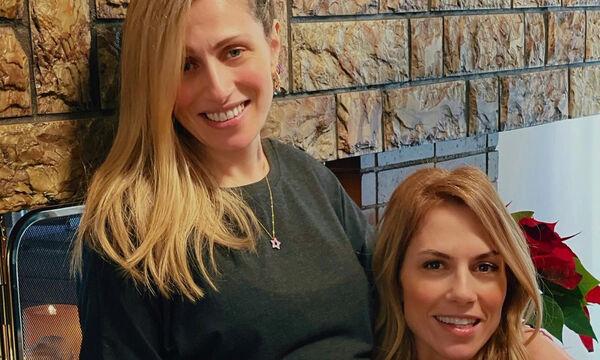 Ντορέττα Παπαδημητρίου: Νέα φώτο με την αδελφή και τη νεογέννητη ανιψιά της