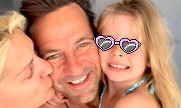 Μάκης Παντζόπουλος: Μπαμπάς στο καθήκον - Δείτε τις υπέροχες φώτο
