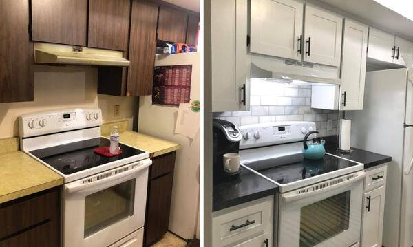 Δείτε την εκπληκτική μεταμόρφωση αυτής της κουζίνας