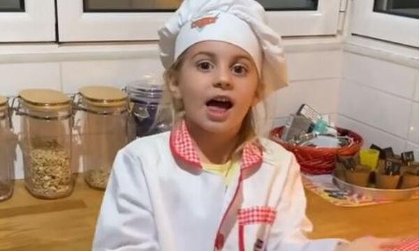 Μαλένα Χανταμπάκη: Φτιάχνει πίτσα κι είναι απολαυστική (vid)