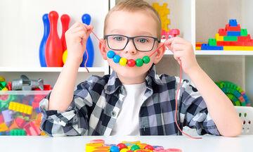 Επτά αισθητηριακά παιχνίδια για παιδιά με αυτισμό