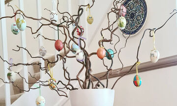 Ιδέες για να φτιάξετε το δικό σας πασχαλινό δέντρο (pics)