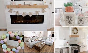 Πασχαλινή διακόσμηση: Απλές κι όμορφες ιδέες για το σπίτι σας