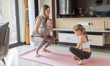 Γυμναστική για μαμάδες: Με αυτές τις ασκήσεις θα χάσετε 3 κιλά έως το Πάσχα