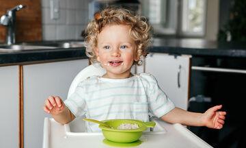 Δέκα θρεπτικά συστατικά απαραίτητα για την ανάπτυξη του νηπίου