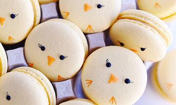 Πασχαλινά macarons - Εύκολα και Νόστιμα (pics+vid)