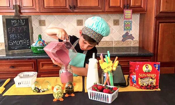 Πασχαλινό smoothie για παιδιά (vid)