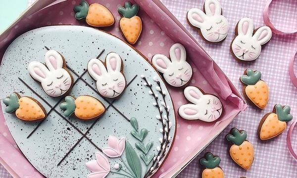 Πασχαλινά μπισκότα: 10 ιδέες για να τα διακοσμήσετε (pics)